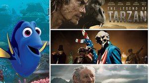 อันดับที่ 1 ในวีคที่ 3 กับ Finding Dory! Tarzan โหนเถาวัลย์สู้ และดู The Purge ปิดเมืองฆ่าคน