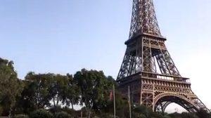 ชาวปารีสผวา! สัญญาณเตือนภัยใกล้หอไอเฟลทำงาน