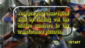 เกมส์ Hidden Numbers Transformers