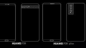 หลุดดีไซน์ Huawei P20, P20 Plus และ P20 Pro พร้อมกล้องหลัง 3 ตัวทุกรุ่น