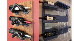 สายปาร์ตี้ต้องจัด! 10 ตัวอย่าง ชั้นวางไวน์ เท่ๆ