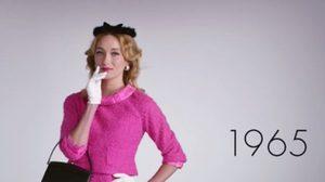 วิวัฒนาการ แฟชั่น 100 ปี ของสาวๆ ย่อมาให้ดู จบใน2นาที!