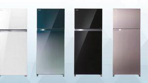 Toshiba Inverter W-Series และ H-Series ตู้เย็นดีไซน์หรูหราแปลกตา