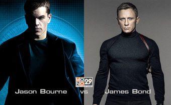 เจสัน บอร์น vs เจมส์ บอนด์ ใครเจ๋งกว่า..??