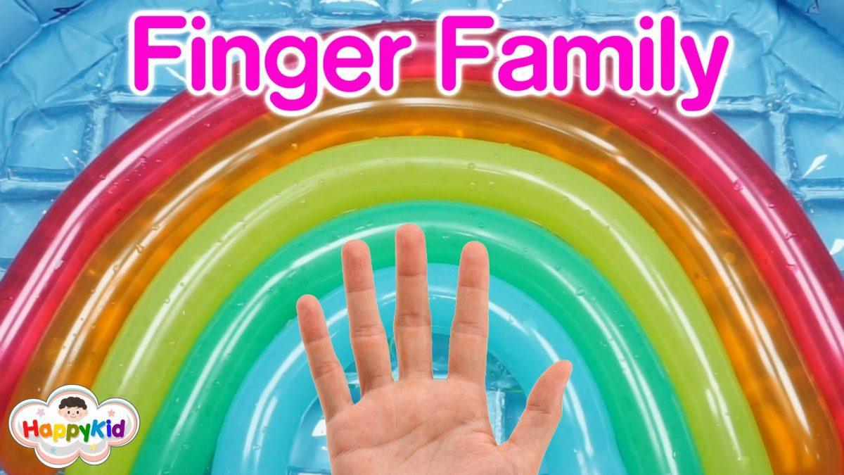 เพลง Finger Family #2 | เจาะลูกโป่งสายรุ้ง | สีภาษาอังกฤษ | Learn Color With Wet Rainbow Balloon