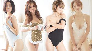 ฟินถึงขีดสุดกับภาพเบื้องหลัง A'lure Magazine VOL.77 พบกับทีเด็ด 4 สาวสุดเซ็กซี่ประจำเดือนกันยายน
