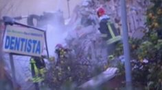 อาคารถล่มในอิตาลี หลังเกิดเหตุระเบิด