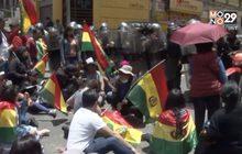 โบลิเวียประท้วงต้านประธานาธิบดี 4 สมัย