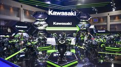 kawasaki เปิดโชว์รูมสุดยิ่งใหญ่ อวด มอเตอร์ไซค์ ทุกไลน์อัพภายในงาน Motor Show 2018