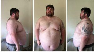 หนุ่มร่างใหญ่ลดน้ำหนัก จาก 107 เหลือ 88 เพราะเล่นเครื่องเล่นในสวนสนุกไม่ได้!!