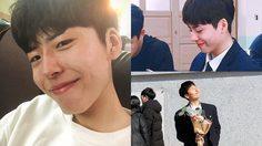 นักเรียนหนุ่มเกาหลี คิมมินซอ ได้ชื่อว่าหน้าคล้าย พัคโบกอม ที่สุด