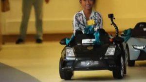 ไอเดียเจ๋ง! รพ.เด็กในสหรัฐฯ ให้เด็กขับรถไปห้องผ่าตัดเอง