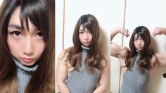 นักกล้ามหุ่นโต แกล้งแฟน ๆ บนโซเชียลด้วยการ แปลงร่างเป็นสาวสวยกล้ามล่ำ