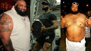 ออกกำลังกายด้วยการเดิน หนุ่มอ้วน 274 กิโล ลดน้ำหนัก 2 ปีเหลือ 136