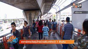 แพทย์เผยวัยรุ่นไทยป่วย 'โรคซึมเศร้า' กว่า 1 ล้านคน