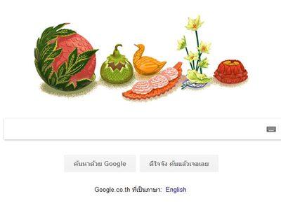 Google เปลี่ยนภาพ Doodle เฉลิมฉลองอาจารย์ เพ็ญพรรณ สิทธิไตรย์ ศิลปินแห่งชาติสาขาทัศนศิลป์