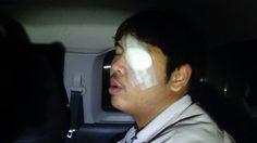 หนุ่มโรงงาน ตาหวิดบอด ถูกคนร้ายปาหินใส่หน้า ขณะขี่จยย.
