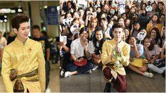 เร็น NU'EST W อวดแฟชั่นสนามบินสุดพีค! ใส่ชุดไทยเต็มยศเพื่อไทยแลนด์