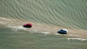 อ้าวเฮ้ย! ถนนในฝรั่งเศส จมหายใต้ทะเล วันละ 2 ครั้ง