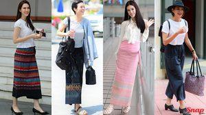 งามอย่างไทย กับ แฟชั่นผ้าไทย ที่ดาราสาวมิกซ์แอนด์แมทช์ยังไงถึงส๊วยสวย!!!