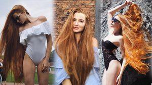 เจ้าหญิงราพันเซล!! Anastasia  Sidorova นางแบบผมยาวธรรมชาติที่กำลังฮอตในโลกโซเชียล