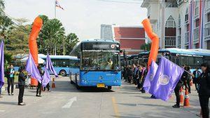 ขนส่งฯ เปิดตัว รถเมล์ใหม่ 2 เส้นทาง พร้อมให้บริการฟรี 5 วัน