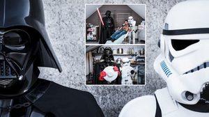 ช่างภาพหนุ่มกับผลงานการจับ Darth Vader และลูกสมุนมาทำงานพาร์ทไทม์