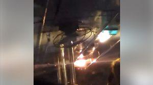 รถเมล์โดยสาร, ฝนตก, ขสมก.