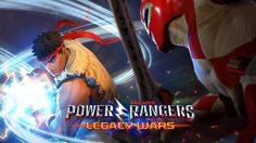 Power Rangers Legacy Wars เมื่อเหล่าขบวนการขอไฟ้ว์กับนักสู้จาก SFV