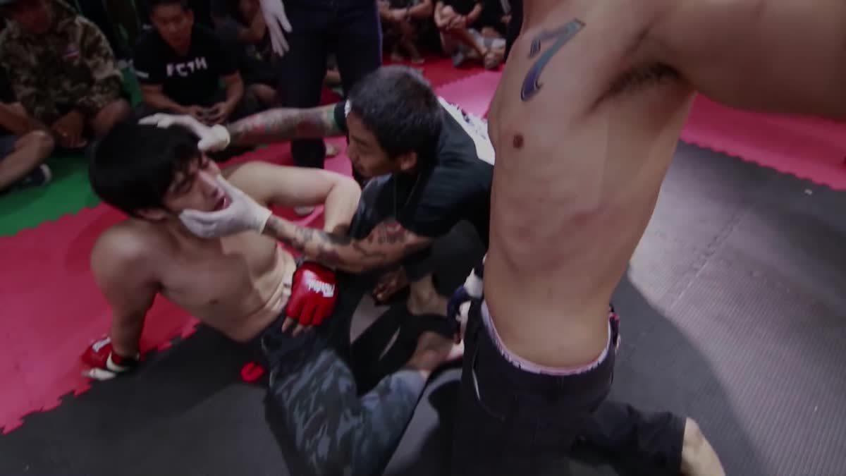 Fight Club Thailand ส่งท้ายปี จา ซาติน x สำราน สายลุย คู่ที่ 194
