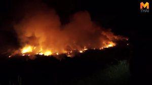 เกิดเหตุไฟไหม้โรงงาน รถดับเพลิงกว่า 20 คัน ไม่สามารถระงับไว้ได้