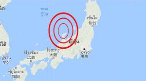 เกิดแผ่นดินไหวขนาด 6.2 แมกนิจูด นอกชายฝั่งญี่ปุ่นไม่เตือนสึนามิ