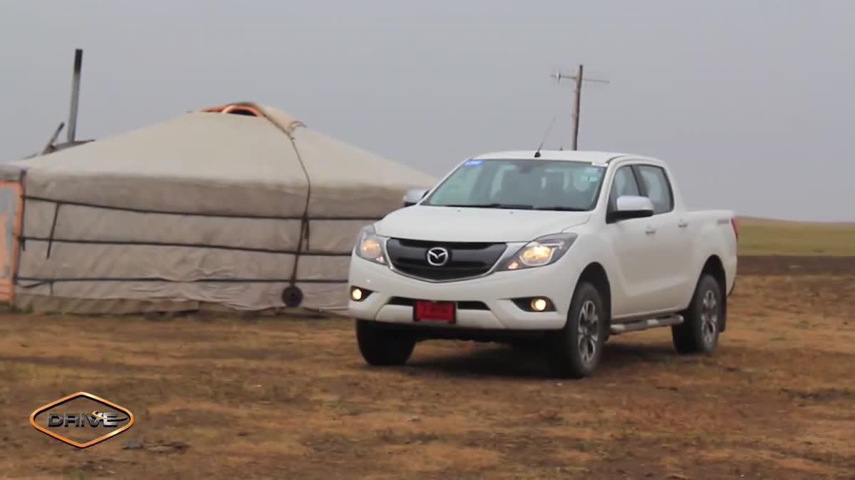 [Long Drive] 2015 Mazda BT-50 Pro พิสูจน์ความแกร่ง บนเส้นทางสุดหิน ปักกิ่ง-มองโกเลีย Part2 [จบ]