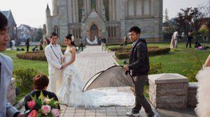 เทมส์ ทาว์น เมืองจำลองยุโรป สถานที่ถ่ายภาพแต่งงานสุดฮิต ชาวจีน