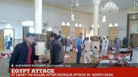 ด่วน! ระเบิดมัสยิด-กราดยิงคนที่อียิปต์ เสียชีวิตแล้วอย่างน้อย 155 ราย