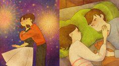 15 ภาพวาด กิจกรรมคู่รักสุดแสนอบอุ่น ที่สาวๆ เห็นแล้ว ต้องขอลองเอาไปใช้บ้าง