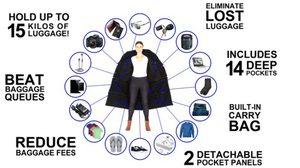 ไม่ต้องง้อเป้ใบใหญ่ๆ ด้วย แจ็คเก็ต แบบใหม่ที่กระเป๋ามี 14 ช่อง พร้อมรับน้ำหนักได้ถึง 15 กก.