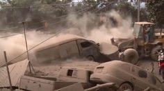 ภูเขาไฟระเบิดกัวเตมาลา พบผู้สูญหายเกือบ 200 คน