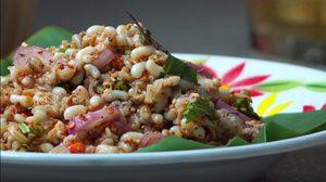 วิธีทำ ยำไข่มดแดง เมนูยอดฮิตร้านอาหารอีสาน