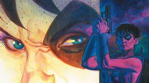 โดมิโน ในลุคใหม่กำลังนอนทับ เดดพูล หน้าเตาผิง ในภาพล่าสุดจาก Deadpool 2