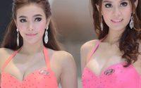 พริตตี้ ฮุนได มอเตอร์ เอ็กซ์โป 2013 น่ารักสีสันสดใส
