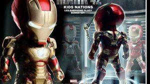 เกาะกระแส Iron man 3 ด้วยที่ห้อยมือถือ EarPhone Plugy จาก Kids Logic