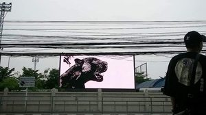 รองอธิการบดี มทร.ธัญบุรี ขอโทษ ภาพเสือดำโผล่จอ LED