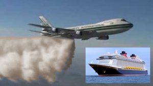 ระทึก! บินโดยสารปล่อยอึลอยฟ้า ตกใส่เรือสำราญ เจ็บ 23 ราย
