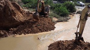 จนท.เร่งซ่อมสระเก็บน้ำม.เกษตรฯลพบุรีพัง ยันไม่กระทบประชาชน
