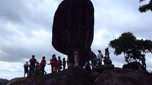 เปิดแหล่งท่องเที่ยวใหม่ หินพัด บ้านยวนสาว-มองทะลุผ่านอย่างมหัศจรรย์