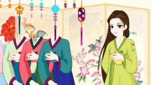 เกมส์แต่งตัวเจ้าหญิงเกาหลี Korean Hanbok Dressup