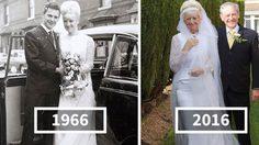 ฉลอง ครบรอบแต่งงาน 50 ปี ตายายคู่นี้ยังใส่ ชุดแต่งงานเดิม ได้เป๊ะเวอร์!