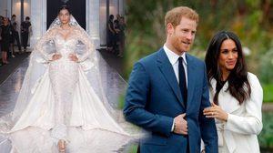 เจ้าชายแฮร์รี่จัดเต็ม! ชุดแต่งงาน เมแกน สวยระยับ งานปักมือจากแบรนด์หรู ราคา 4.3 ล้านบาท