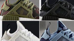 adidas NMD XR1 Duck Camo ลวดลายคาโม่ที่มีด้วยกันถึง 5 สี